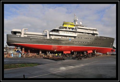 Yersin, navire d'exploration