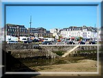 Concarneau vu de la Ville Close en mars 2009