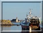 Le port de Saint Guénolé et la chapelle ND de la Joie