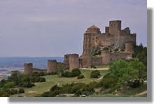 El castillo de Loarre (Aragón)