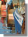 Palette de couleurs dans le port. Photo prise le dimanche 21 juin 2009.