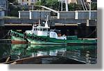 Les deux remorqueurs du port. Photo prise le 8 août 2010.