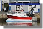 Le Père Milo de Lorient (LO 922413) à quai avec ses nouvelles couleurs. Il s'agit de l'ancien Cap en Baie de Erquy. Photo prise le 14 août 2010.