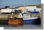 L'écume des jours de Saint Brieuc (SB 722685) à quai. Photo prise le 19 septembre 2010.