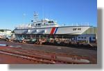 La vedette des douanes de Nice Sirocco (DF 45) sur le Slipway. Photo prise le 7 novembre 2010.