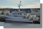 L'Altaïr de la marine nationale à quai. Photo prise le 28 novembre 2010.