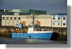 L'Atlantic Surveyor (CC 533053) à quai en ce début d'année. Photo prise le 8 janvier 2011.