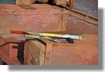 Beaucoup de détails à découvrir sur le Slipway du port. Photo prise le 27 février 2011.