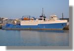 Le navire de recherche Langevin à quai. Un habitué du port. Photo prise le 4 mars 2011.