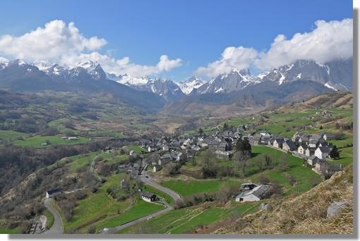 Le superbe cirque de Lescun, dans la très belle vallée d'Aspe. Photo prise le 21 mars 2011.