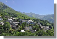 Le village d'Aydius (Vallée d'Aspe)