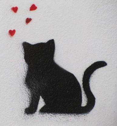 graff chat noir_Ricardo Rick