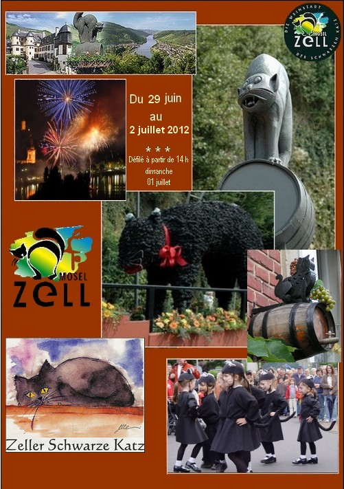 Chat noir de Zell (Allemagne)