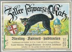 étiquette chat noir