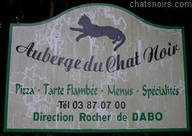 auberge chat noir Alsace