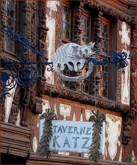 Alsace Taverne Katz (chat) Saverne