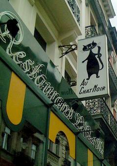Le chat Noir restaurant Bruxelles