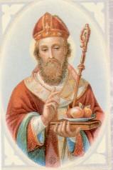 Saint Nicolas et trois bourses d'or