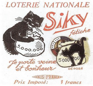 loterie nationale chat noir