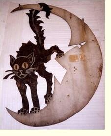Enseigne du cabaret Le Chat noir - Musée Carnavalet