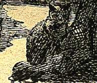 Eponine, chatte noire de T.Gautier