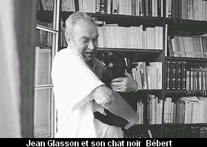 J.Glasson collectionneur Céline-chat noir