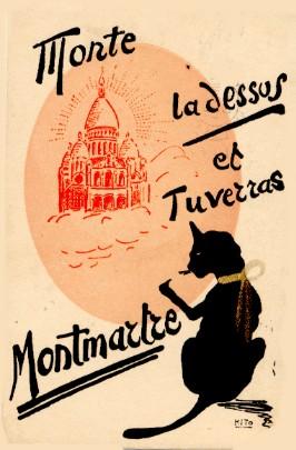 Chanson Monte la d'ssus et tu verras Montmartre