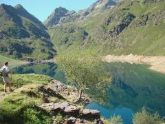 L'étang d'Izourt - 1647 mètres (Ariège)