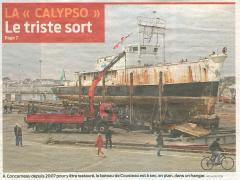La une du quotidien Sud Ouest (http://www.sudouest.com) le 25 janvier 2010