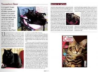 Bonnie,du site Chats Noirs, article paru dans Atout chat