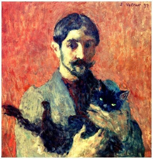 Louis Valtat - 1899 Autoportrait
