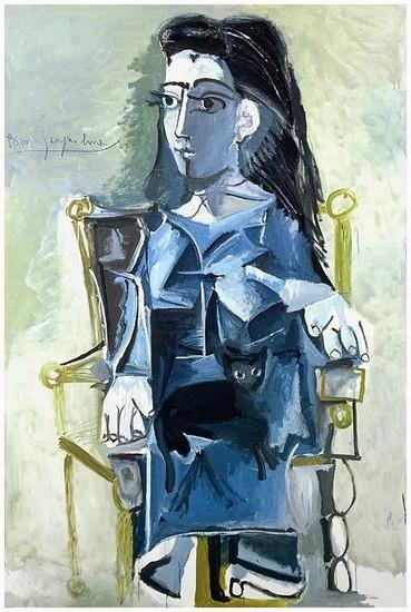 Picasso -JacquelineAssiseDansUnFauteuil