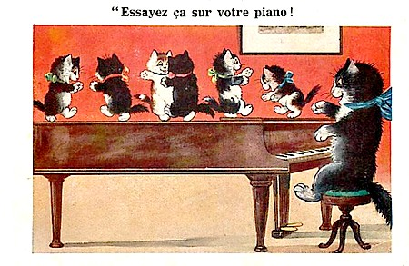 chat et piano