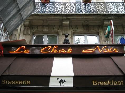 Chat noirs Paris 75001