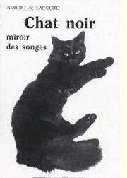 Chat noir miroir des songes - R. de Laroche