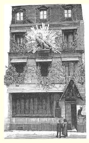 Le Chat Noir rue Victor Massé