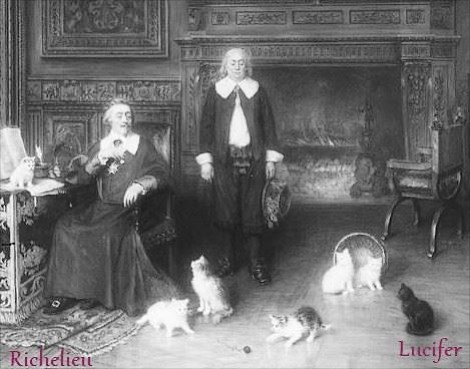 Richelieu et Lucifer 666