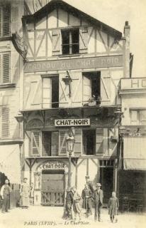 Le Chat Noir Montmartre 1910