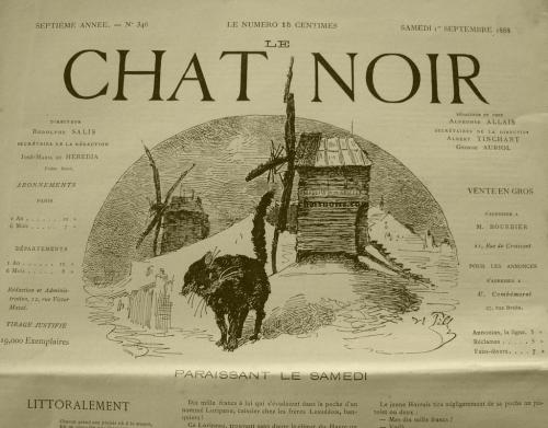 Journal Le Chat Noir 1888