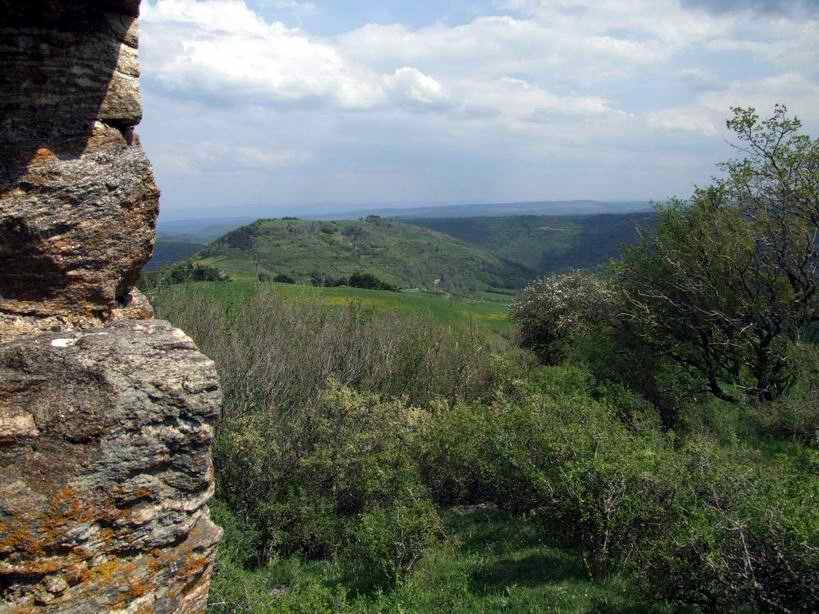 les ruines médiévales sont toujours dans des endroits ayant une vue incroyable !
